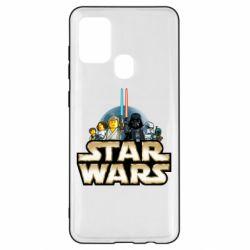 Чохол для Samsung A21s Star Wars Lego
