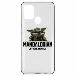 Чехол для Samsung A21s Star Wars Yoda beby