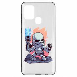 Чохол для Samsung A21s Stormtrooper chibi