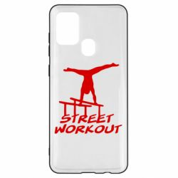 Чохол для Samsung A21s Street workout