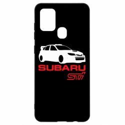 Чехол для Samsung A21s Subaru STI