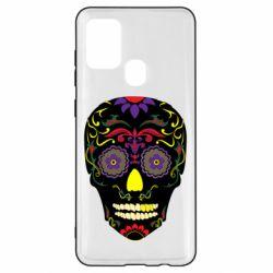 Чохол для Samsung A21s Sugar Skull Vector