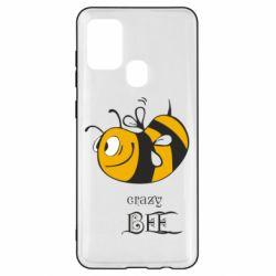 Чехол для Samsung A21s Сумасшедшая пчелка
