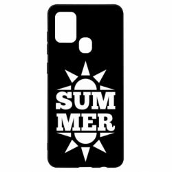 Чехол для Samsung A21s Summer and sun