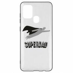 Чохол для Samsung A21s Super dad flies