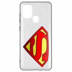 Чехол для Samsung A21s Superman Logo