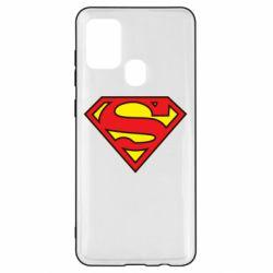 Чехол для Samsung A21s Superman Symbol
