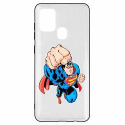Чохол для Samsung A21s Супермен Комікс