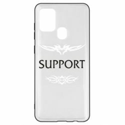 Чехол для Samsung A21s Support