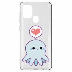 Чехол для Samsung A21s Sweet Octopus