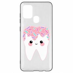Чохол для Samsung A21s Sweet tooth