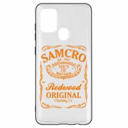 Чохол для Samsung A21s Сини Анархії Samcro