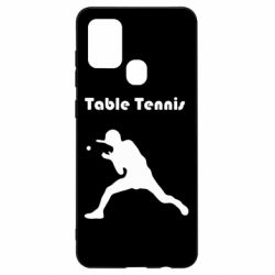 Чохол для Samsung A21s Table Tennis Logo