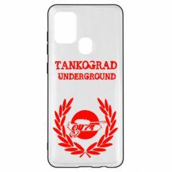 Чохол для Samsung A21s Tankograd Underground