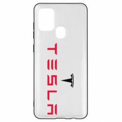 Чехол для Samsung A21s Tesla