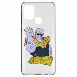Чохол для Samsung A21s Thanos Art