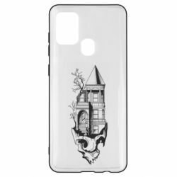 Чохол для Samsung A21s The castle is on the skull