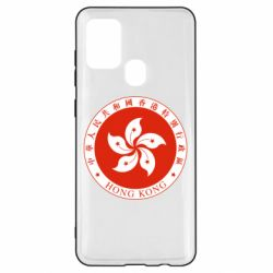 Чехол для Samsung A21s The coat of arms of Hong Kong