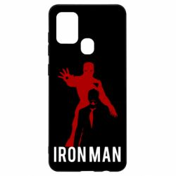 Чехол для Samsung A21s The Invincible Iron Man