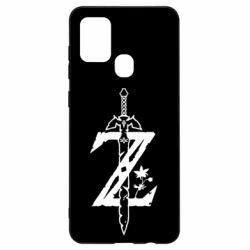 Чехол для Samsung A21s The Legend of Zelda Logo