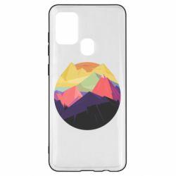 Чехол для Samsung A21s The mountains Art