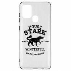 Чехол для Samsung A21s The North Remembers - House Stark