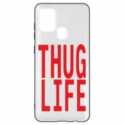 Чехол для Samsung A21s thug life