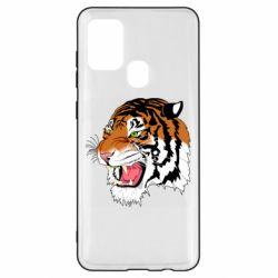 Чохол для Samsung A21s Tiger roars