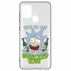 Чехол для Samsung A21s Time to get riggity wrecked son