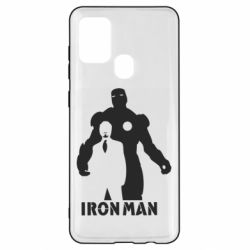 Чехол для Samsung A21s Tony iron man