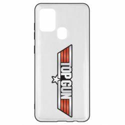 Чохол для Samsung A21s Top Gun Logo