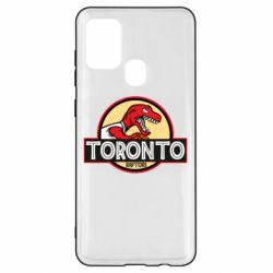 Чехол для Samsung A21s Toronto raptors park
