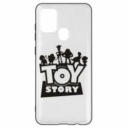 Чехол для Samsung A21s Toy Story and heroes