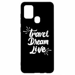 Чехол для Samsung A21s Travel Dream Live