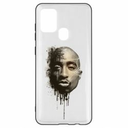 Чехол для Samsung A21s Tupac Shakur