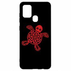 Чохол для Samsung A21s Turtle fossil