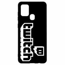 Чохол для Samsung A21s Twitch logotip