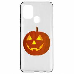 Чохол для Samsung A21s Тыква Halloween