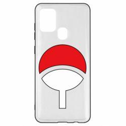 Чехол для Samsung A21s Uchiha symbol