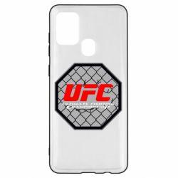 Чехол для Samsung A21s UFC Cage