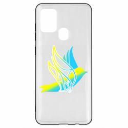 Чохол для Samsung A21s Україна Ластівка