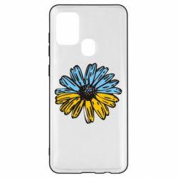 Чехол для Samsung A21s Українська квітка