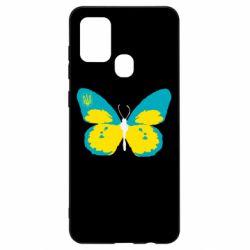 Чохол для Samsung A21s Український метелик