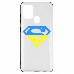Чохол для Samsung A21s Український Superman