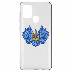 Чохол для Samsung A21s Український тризуб арт