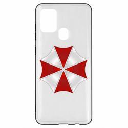 Чохол для Samsung A21s Umbrella Corp Logo