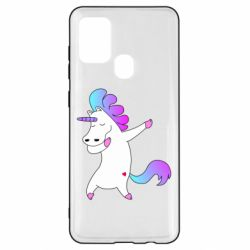Чехол для Samsung A21s Unicorn swag