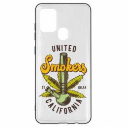 Чохол для Samsung A21s United smokers st relax California