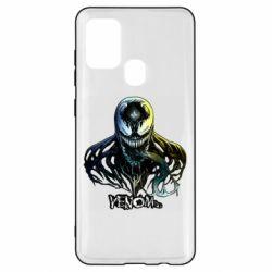 Чехол для Samsung A21s Venom Bust Art