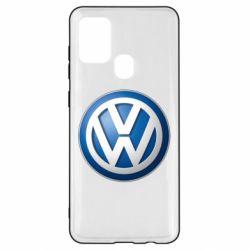 Чохол для Samsung A21s Volkswagen 3D Logo